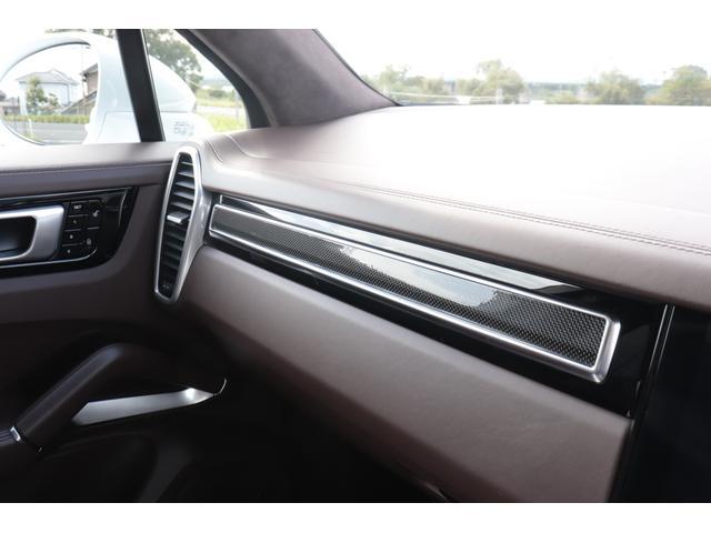ターボ スポーツクロノパッケージ パノラマSR Exclusive Design 21AW LEDマトリクスヘッド PCCB 18WAY調整式トリュフブラウンレザーシート カーボンインテリア 新車保証(67枚目)