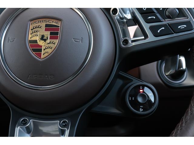 ターボ スポーツクロノパッケージ パノラマSR Exclusive Design 21AW LEDマトリクスヘッド PCCB 18WAY調整式トリュフブラウンレザーシート カーボンインテリア 新車保証(75枚目)