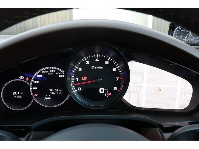 ターボ スポーツクロノパッケージ パノラマSR Exclusive Design 21AW LEDマトリクスヘッド PCCB 18WAY調整式トリュフブラウンレザーシート カーボンインテリア 新車保証(77枚目)