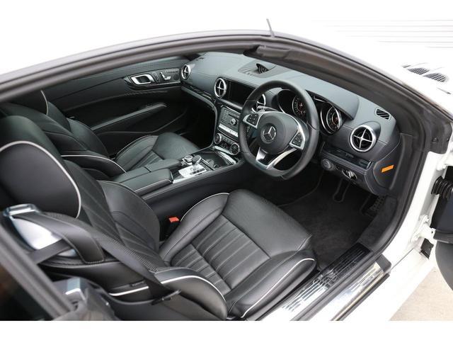 SL400 レーダーセーフティPKG LEDインテリジェントライト シートヒーター ベンチレーター エアスカーフ パワーシート 自動開閉トランク キーレス ナッパレザーシート ダイヤモンドホワイト(8枚目)