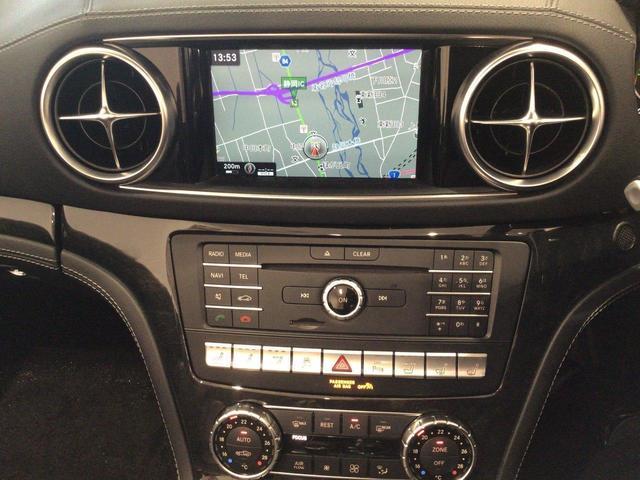 SL400 レーダーセーフティPKG LEDインテリジェントライト シートヒーター ベンチレーター エアスカーフ パワーシート 自動開閉トランク キーレス ナッパレザーシート ダイヤモンドホワイト(14枚目)