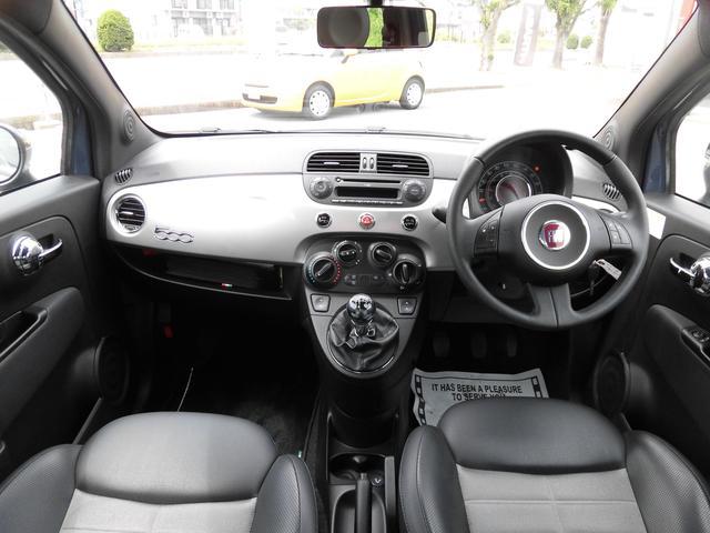 フィアット フィアット 500 ツインエア スポーツプラス60台限定2年保証 コーティング付