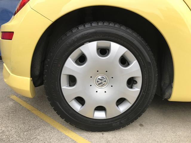 フォルクスワーゲン VW ニュービートル EZ 1.6 ハーフエアロ 内外4つ星 人気のイエロー