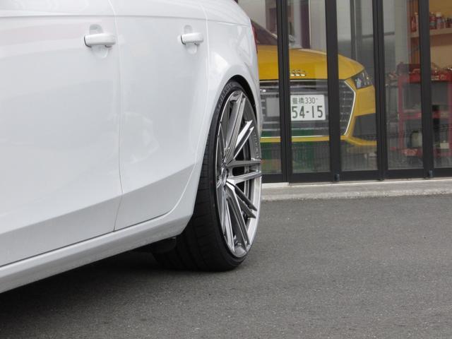 2.0TFSI 新品BC車高調 クリムソン20AW(20枚目)