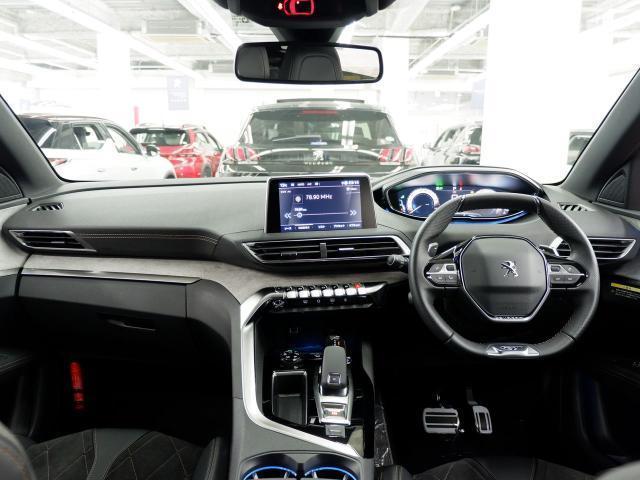 GT ブルーHDi 8AT LEDライト ACC 当社管理試乗車 新車保証継承(2枚目)