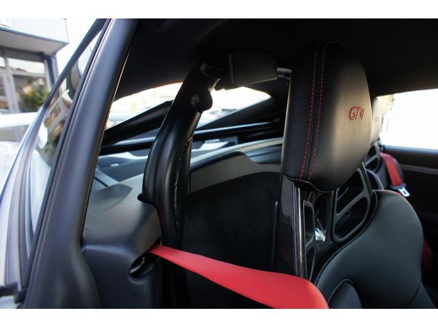ポルシェ ポルシェ ケイマン GT4 1オ-ナ- クラブスポーツ カーボンバケット