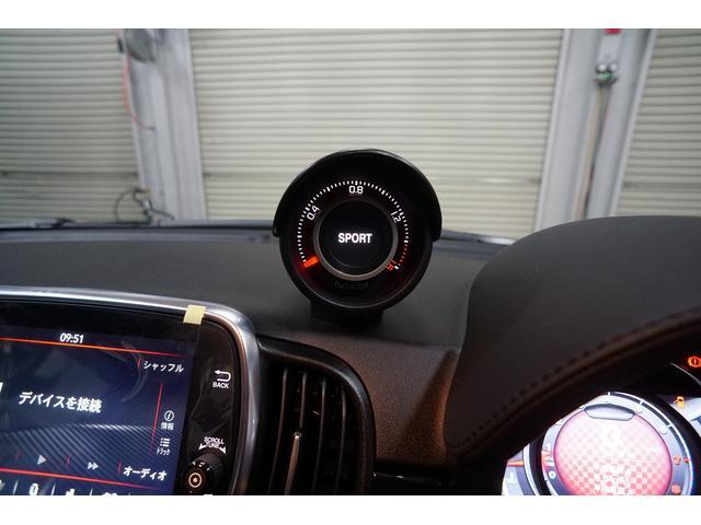 スコルピオーネオーロ 正規ディ-ラ-車 右ハンドル 5速MT 60台限定 新車保証 低ダストパッド サイドバイザー ドルフィンアンテナ Beatsオーディオ AppleCarPlay  ETC スコルピオーネオーロ特別装備(22枚目)