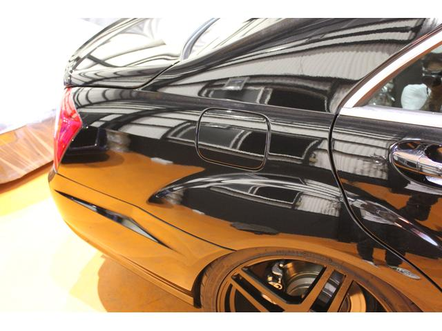 メルセデス・ベンツ M・ベンツ S550ロング左H 後期AMG S65仕様 ローダウン