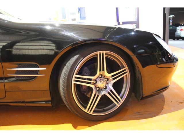 メルセデス・ベンツ M・ベンツ SL350 左H 社外HDDナビ AMGタイプ19アルミ