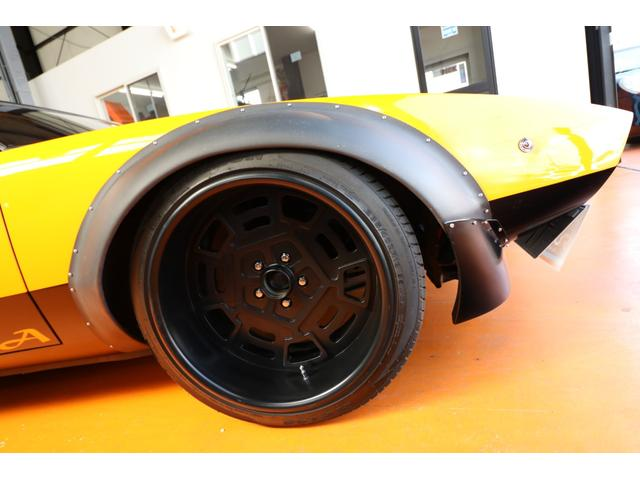 GT4Ver カーボンフェンダー 1オフアルミ FCR8連(5枚目)