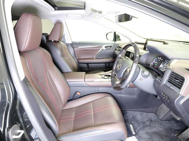 RX450hL ムーンルーフ 本革 後席モニター AWD(14枚目)