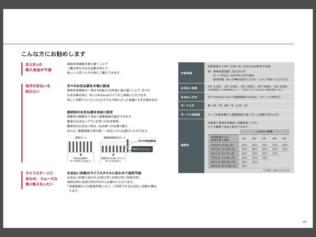 55 TFSI4WD HDマトリクスLED アシスタンスP(20枚目)