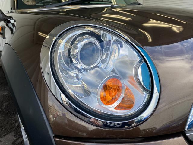 クーパー R56後期モデル プッシュスタート 後期ビックバンパー ステアリングスイッチ パドルシフト HID 本革ステアリング 社外MINI15インチアルミホイール ETC 無事故車 禁煙車 正規ディーラー車(22枚目)