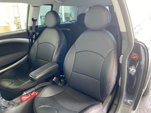 クーパーS クラブマン R55クーパーSプッシュスタート レザーシートカバー HDDナビ&TV ドライブレコーダー OZ17インチアルミホイール ユニオンジャックボンネットストライプ&ミラー 禁煙車 正規ディーラー車(36枚目)