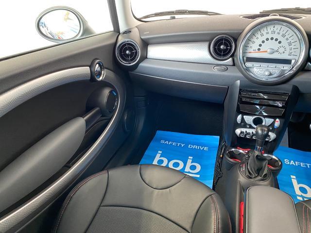 クーパーS クラブマン R55クーパーSプッシュスタート レザーシートカバー HDDナビ&TV ドライブレコーダー OZ17インチアルミホイール ユニオンジャックボンネットストライプ&ミラー 禁煙車 正規ディーラー車(40枚目)