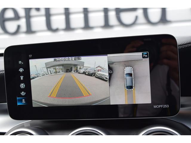 【360°カメラシステム】リバースと連動し、車両全周囲の映像をディスプレィに表示歪みの少ないカメラにより鮮明な画像で後退の運転操作をサポートします。