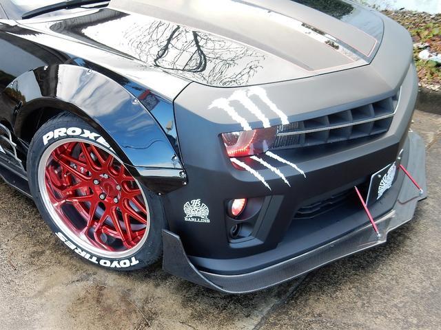 シボレー シボレー カマロ LT RS WIDE BODY KIT フルエアロ装着