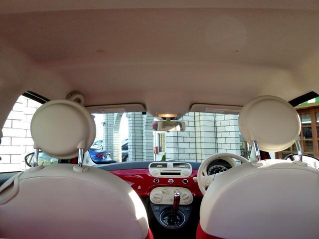 フィアット フィアット 500 1.2 ポップ 純正オーディオ ディーラー車