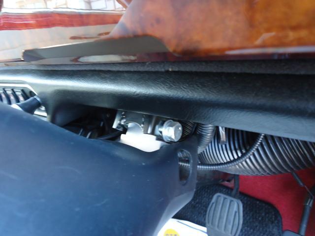 メイフェア AT ワンオーナー 最終型 実走行21900km 4Jオーバーフェンダー/メッキモール エンジンアンダーガード コイルスプリング/ハイローキット構造変更済み ビルシュタイン 取扱説明書 スペアキー(27枚目)
