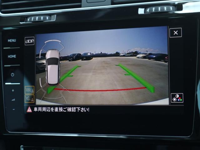 バックモニターで駐車の際にも後方確認をサポートしてくれます