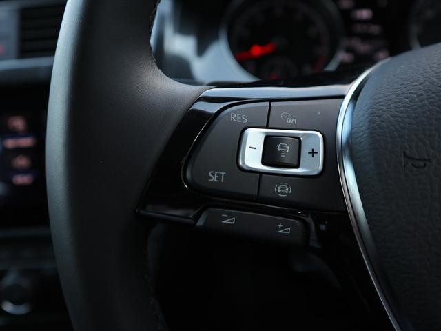 追従型クルーズコントロール「ACC」操作スイッチ。前方を走行する車両との間隔を保持しつつ、設定速度で走行します。
