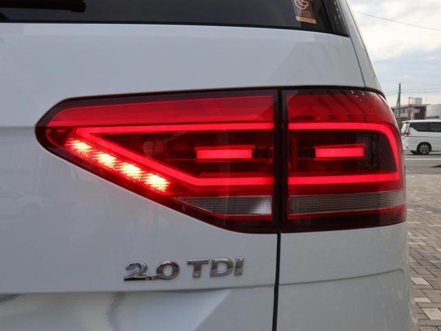 TDI ハイライン LEDヘッドライト 追従型クルーズコントロールACC シートヒーター 2列目サンブラインド 禁煙 3列シート7人乗り ディーゼルターボ デモカー 認定中古車(12枚目)