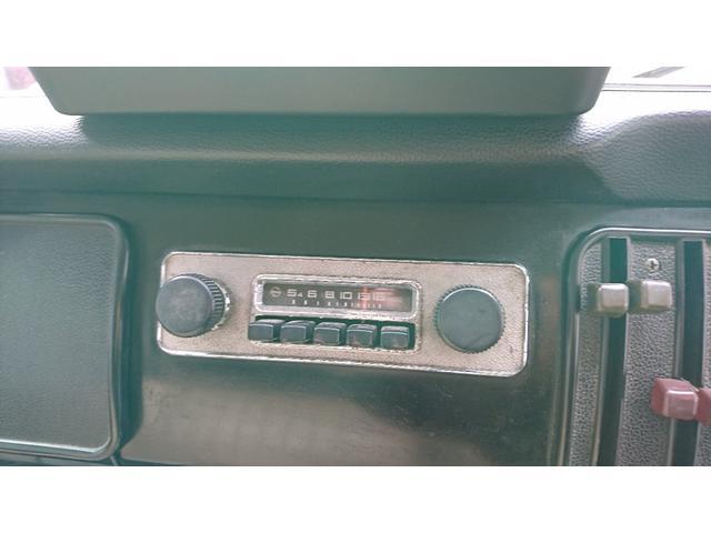 希少な純正ラジオ
