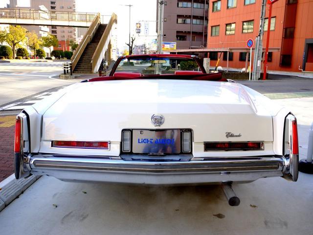 「キャデラック」「キャデラック エルドラド」「オープンカー」「愛知県」の中古車5