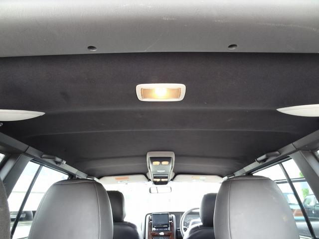 天井はブラック生地で張り替え済みです。