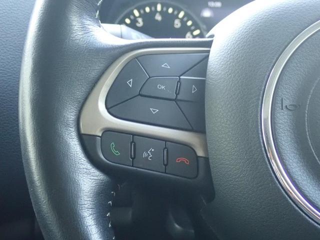 リミテッド 認定中古車保証付き 整備付き メイクマイジープ限定カラー レザーシート シートヒーター バックカメラ ブラックルーフ(17枚目)
