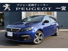 プジョー 308SW GTLine BlueHDi 元試乗車 ナビドラレコ付