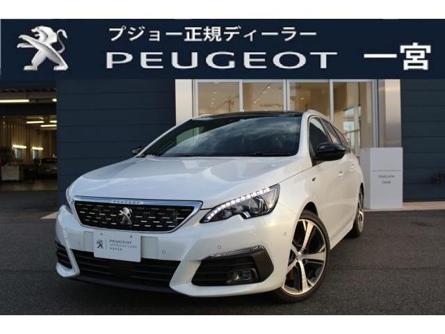 プジョー SW GT BlueHDi 8AT 新車保証継承 元試乗車