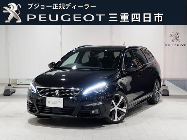プジョー SW GT BlueHDi 8AT Pガラスルーフ LEDライト 新車保証継承