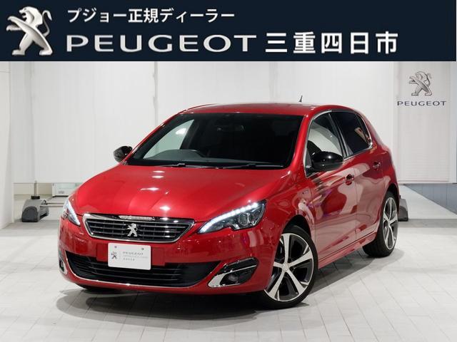 プジョー 308 GTライン 6AT ナビ ETC 認定中古車保証