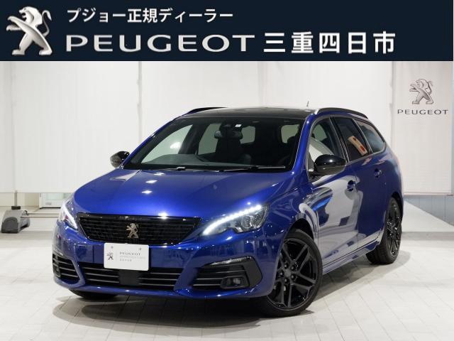 プジョー SW GTライン ブルーHDi 8AT ブラックパック LEDヘッドライト