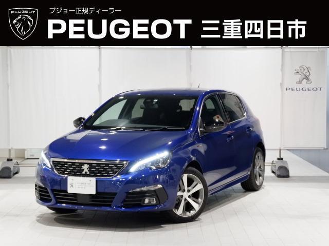 プジョー GTライン ブルーHDi 8AT LEDヘッドライト 新車保証継承