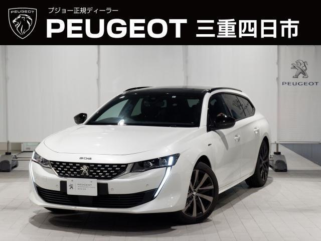 プジョー 508 SW GTライン 8AT フルパッケージ 新車保証継承