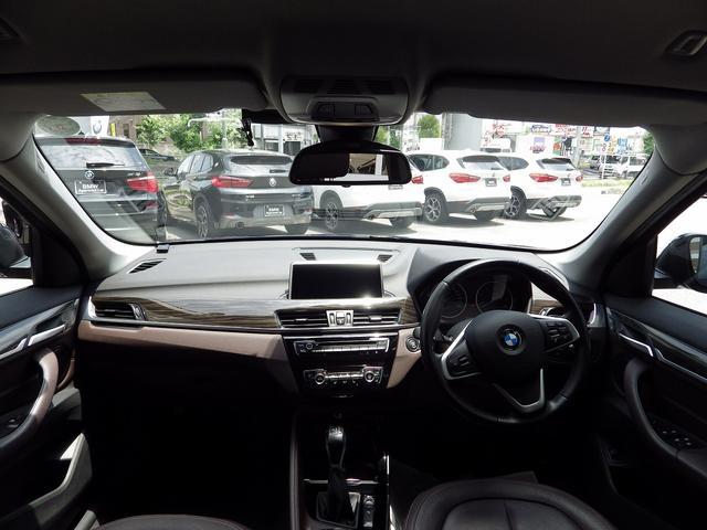 xDrive 18d xライン 2Lターボ 茶革 ウッドパネル シートヒーター 衝突被害軽減ブレーキ(8枚目)
