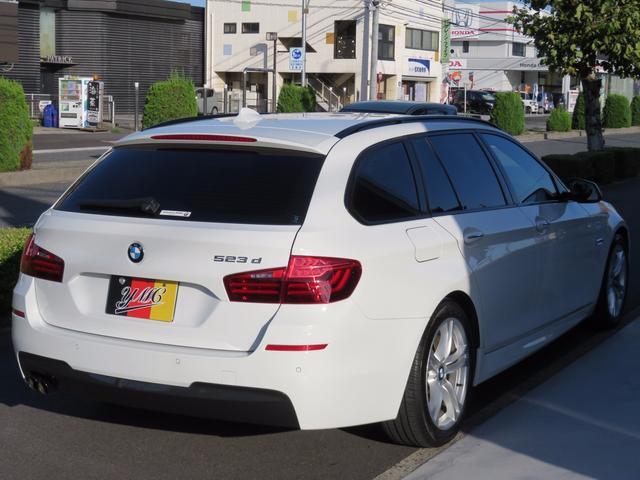 BMW BMW 523dツーリング Mスポーツ レーダーセーフティー