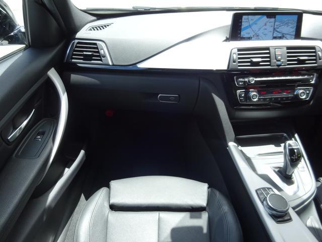 320d Mスポーツ 後期モデル ローダウン 純正19インチAW LEDヘッドライト 黒革シート シートヒーター インテリジェントセーフティ 純正ナビ バックカメラ(6枚目)
