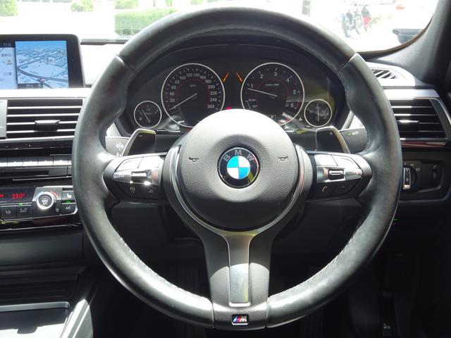 320d Mスポーツ 後期モデル ローダウン 純正19インチAW LEDヘッドライト 黒革シート シートヒーター インテリジェントセーフティ 純正ナビ バックカメラ(7枚目)