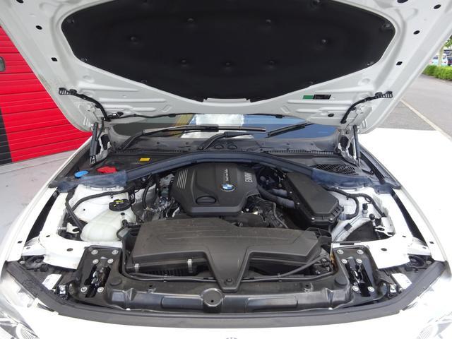 320d Mスポーツ 後期モデル ローダウン 純正19インチAW LEDヘッドライト 黒革シート シートヒーター インテリジェントセーフティ 純正ナビ バックカメラ(38枚目)