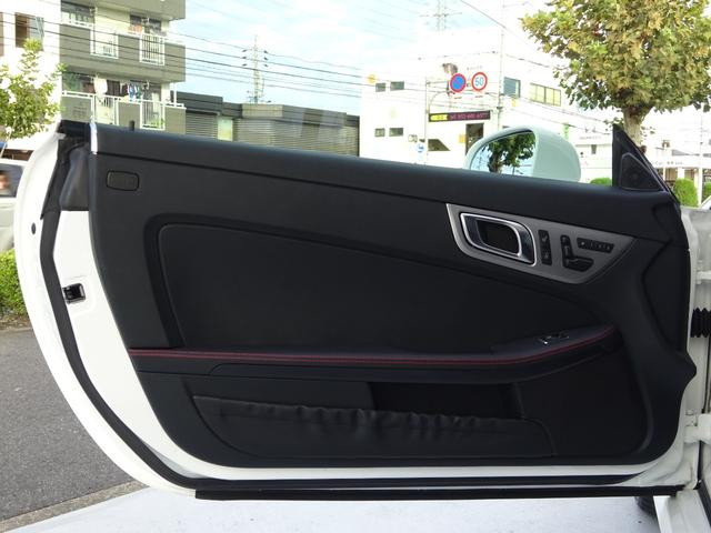 SLK200 AMGスポーツパッケージ・マジックスカイコントロールパノラミックバリオルーフ・レーダーセーフティパッケージ・バックカメラ・ブラックレザーシート・18AW・純正ナビ&TV(23枚目)