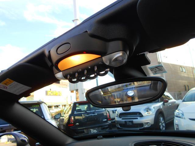クーパーS ロードスター HDDナビ レーダー探知機 ETC 禁煙車 フルセグTV ドライブレコーダー 純正17AW ブラックレザーシート シートヒーター クロームラインインテリア ブラックヘッドライト PDC ミッドナイトブラックボディ ホワイトターンシグナル(14枚目)