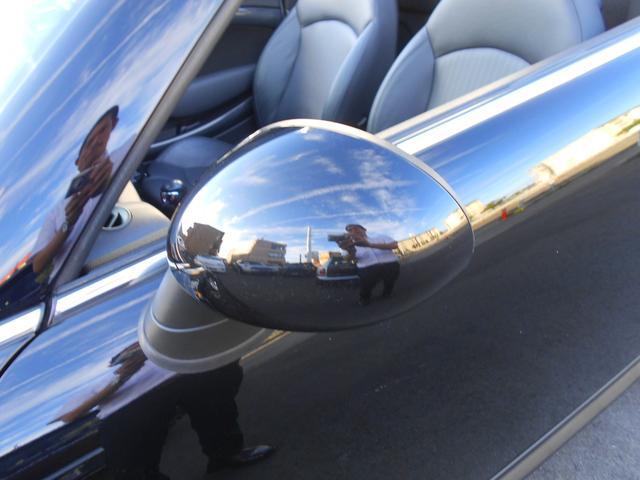 クーパーS ロードスター HDDナビ レーダー探知機 ETC 禁煙車 フルセグTV ドライブレコーダー 純正17AW ブラックレザーシート シートヒーター クロームラインインテリア ブラックヘッドライト PDC ミッドナイトブラックボディ ホワイトターンシグナル(25枚目)