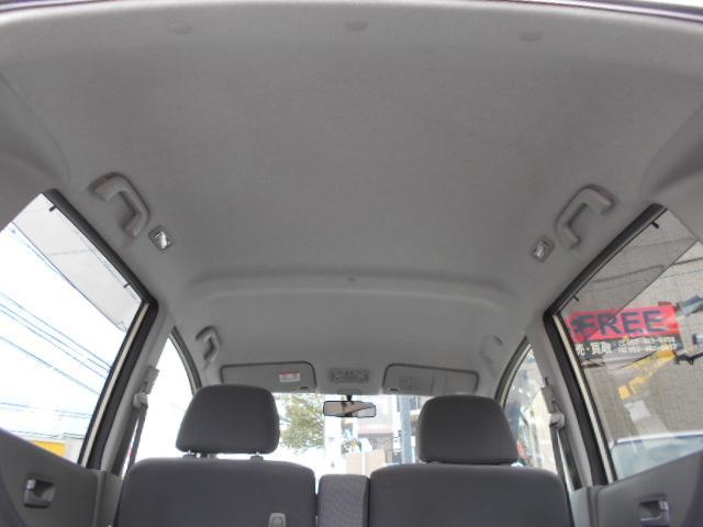 もちろん天井もキレイに拭いてありますよ!ヤニだらけ、、、、なんて事はありませんのでご安心ください。 愛知 大治 格安 軽四 軽自動車 安い 中古車 保証付 安心整備 ジーフリー G-FREE