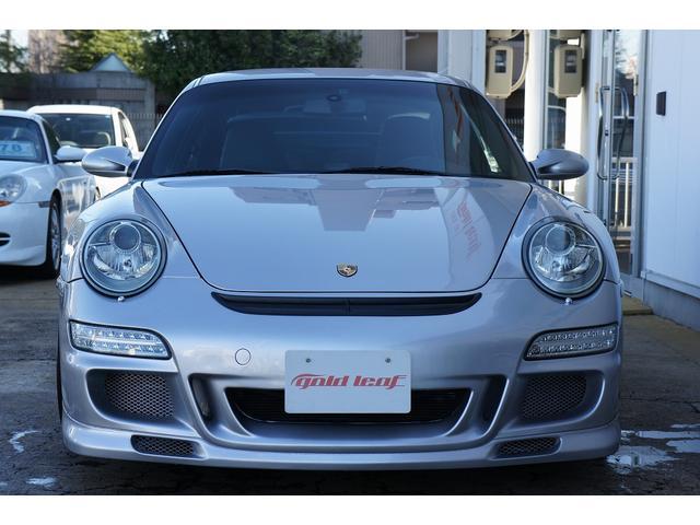 911カレラD車 GT3仕様 黒革シート HDDナビ ETC(2枚目)