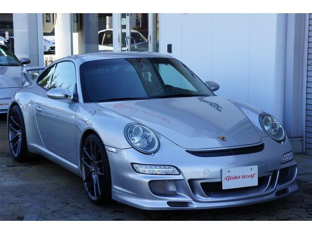 911カレラD車 GT3仕様 黒革シート HDDナビ ETC(6枚目)