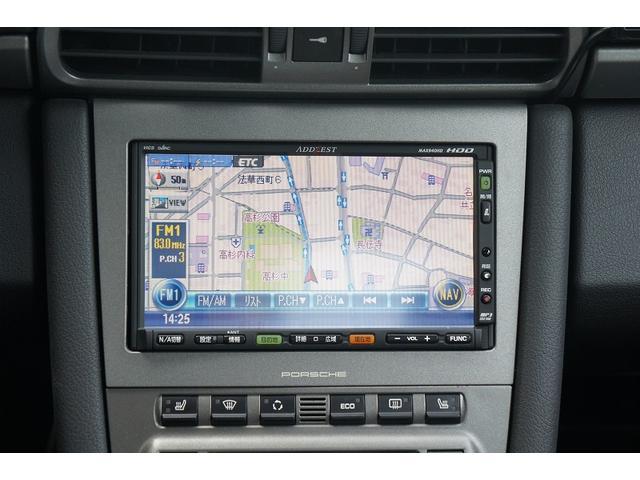 911カレラD車 GT3仕様 黒革シート HDDナビ ETC(10枚目)