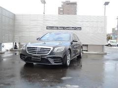 M・ベンツS560L 4マチック AMGライン 新車保証